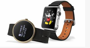 smartwatch with cartoon design