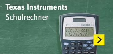 Texas Instruments TI-30 X IIS Schulrechner Schwarz, Silber Display 11 Stellen, solarbetrieben, batteriebetrieben