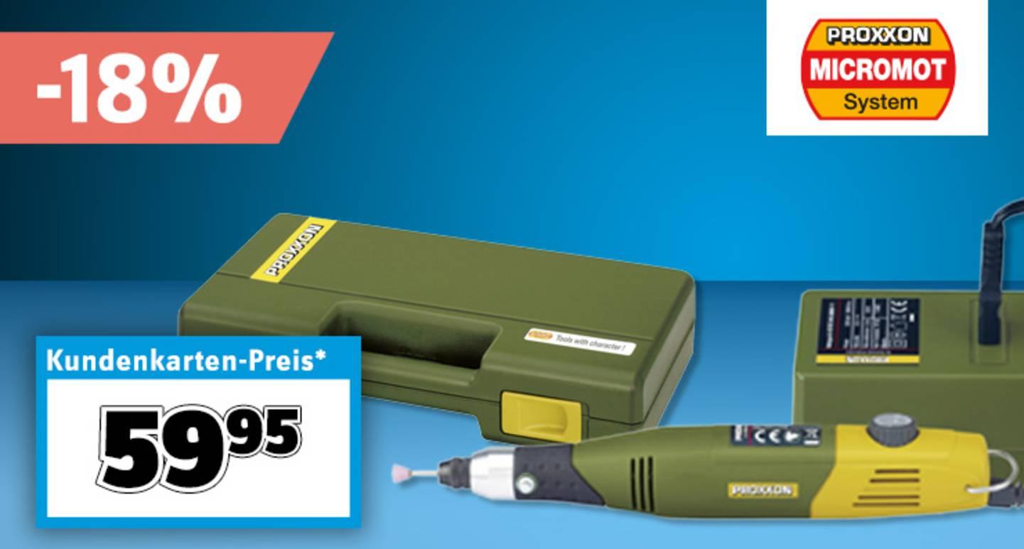 Proxxon - Micromot Multifunktionswerkzeug mit Zubehör »