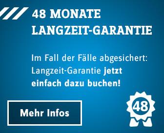 Service 48 Monate Langzeit-Garantie