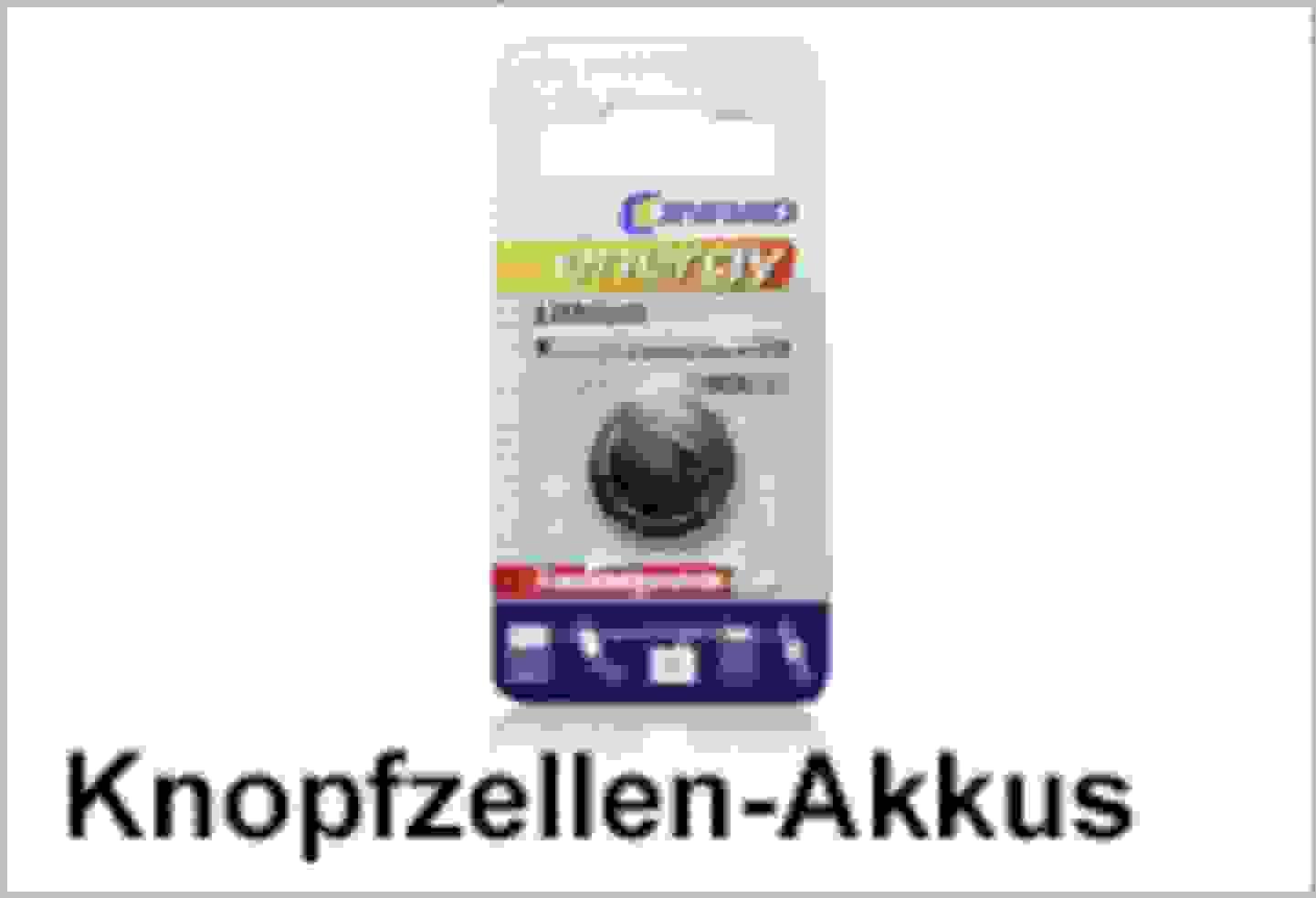 Conrad Energy Knopfzellen-Akkus