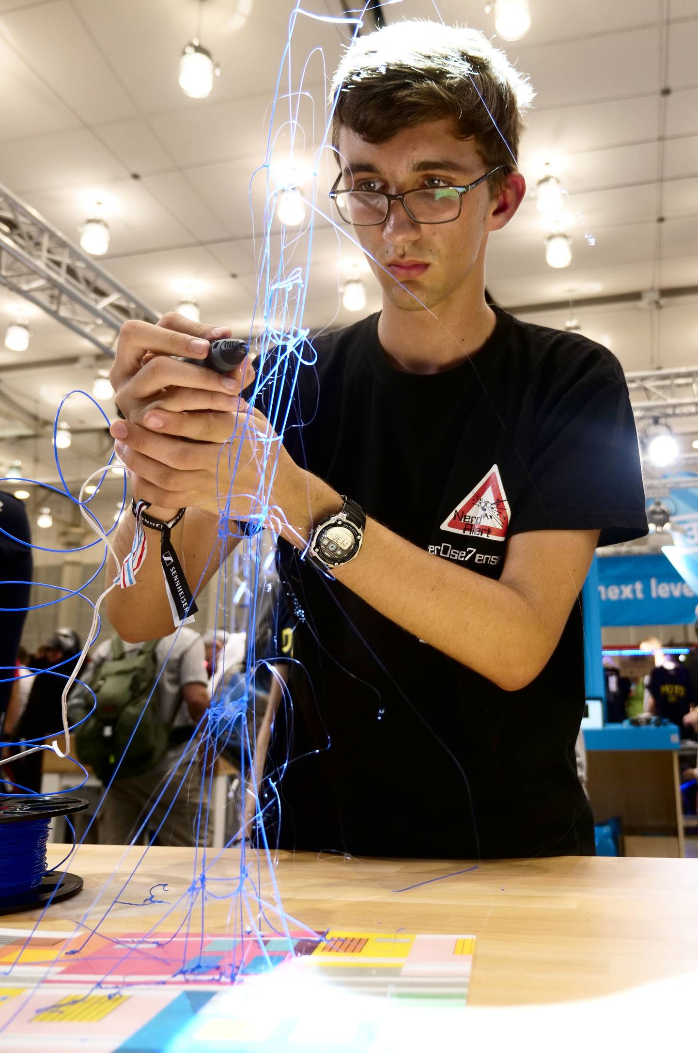 Maker Faire Hannover 2019 - 3D-Druck-Stift