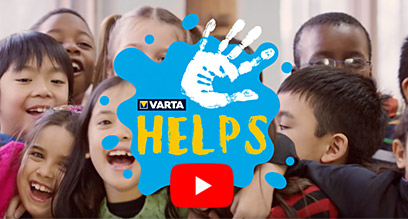 Varta Helps auf YouTube