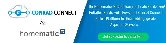 Conrad Connect & homematic IP