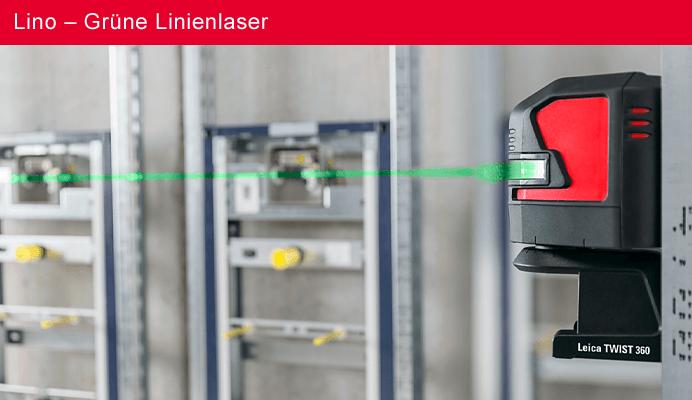 Lino – Grüne Linienlaser