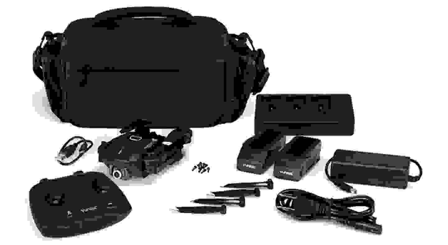 MantisQ - Drone pliable avec caméra et commande vocale - X-Pack