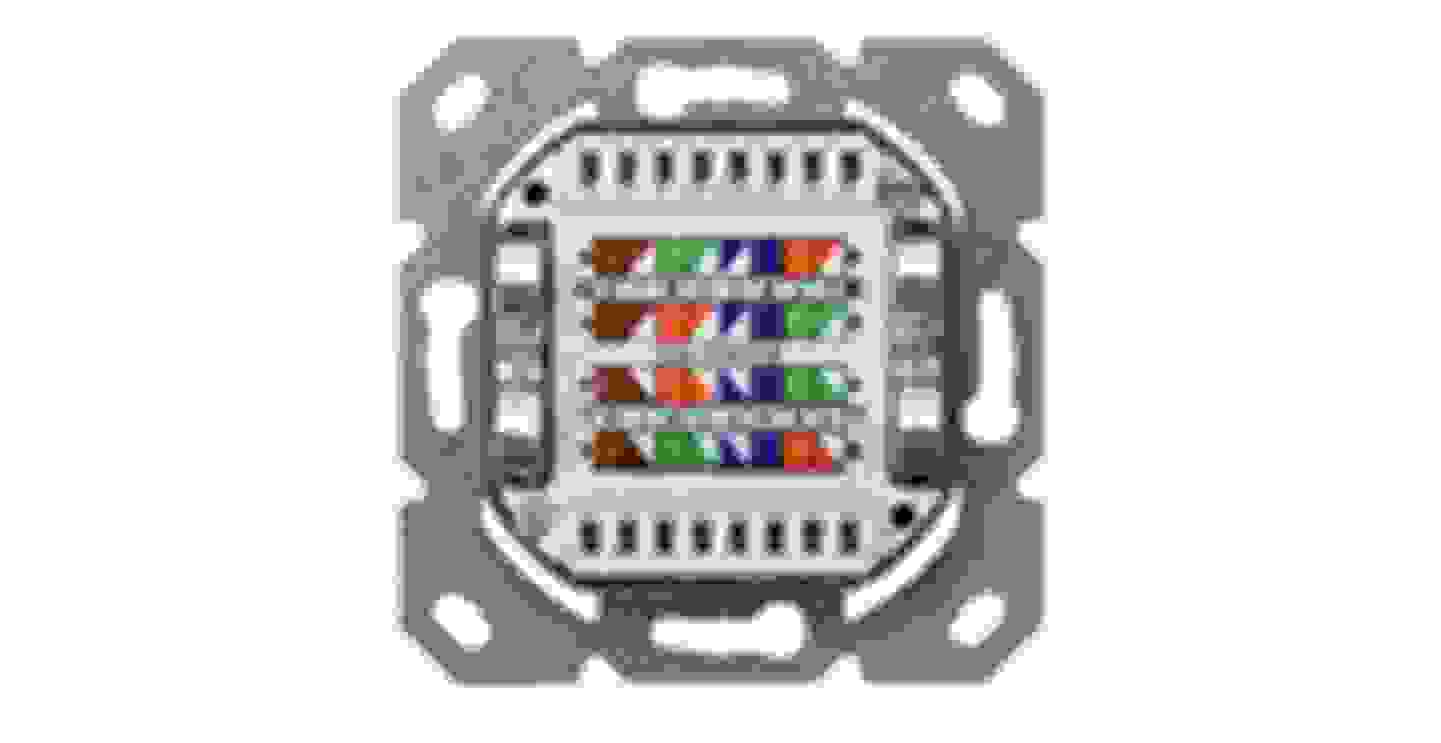 Netzwerkdosen Unterputz