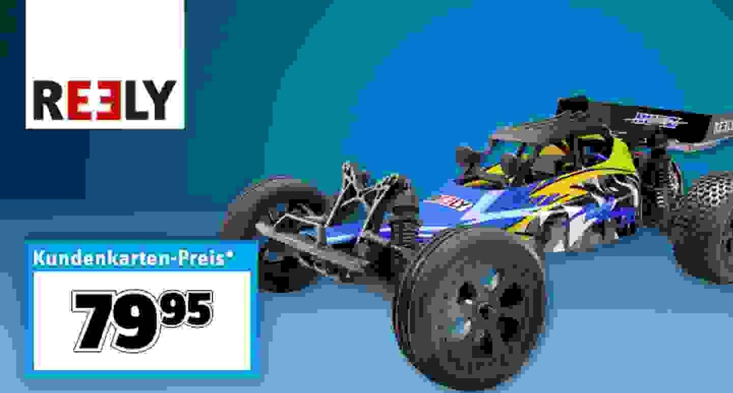 Reely Brushed 1:10 RC Modellauto Elektro Buggy Buzz »