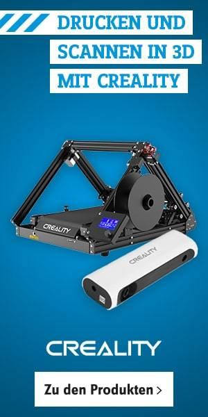 Creality 3D Drucker und Scanner