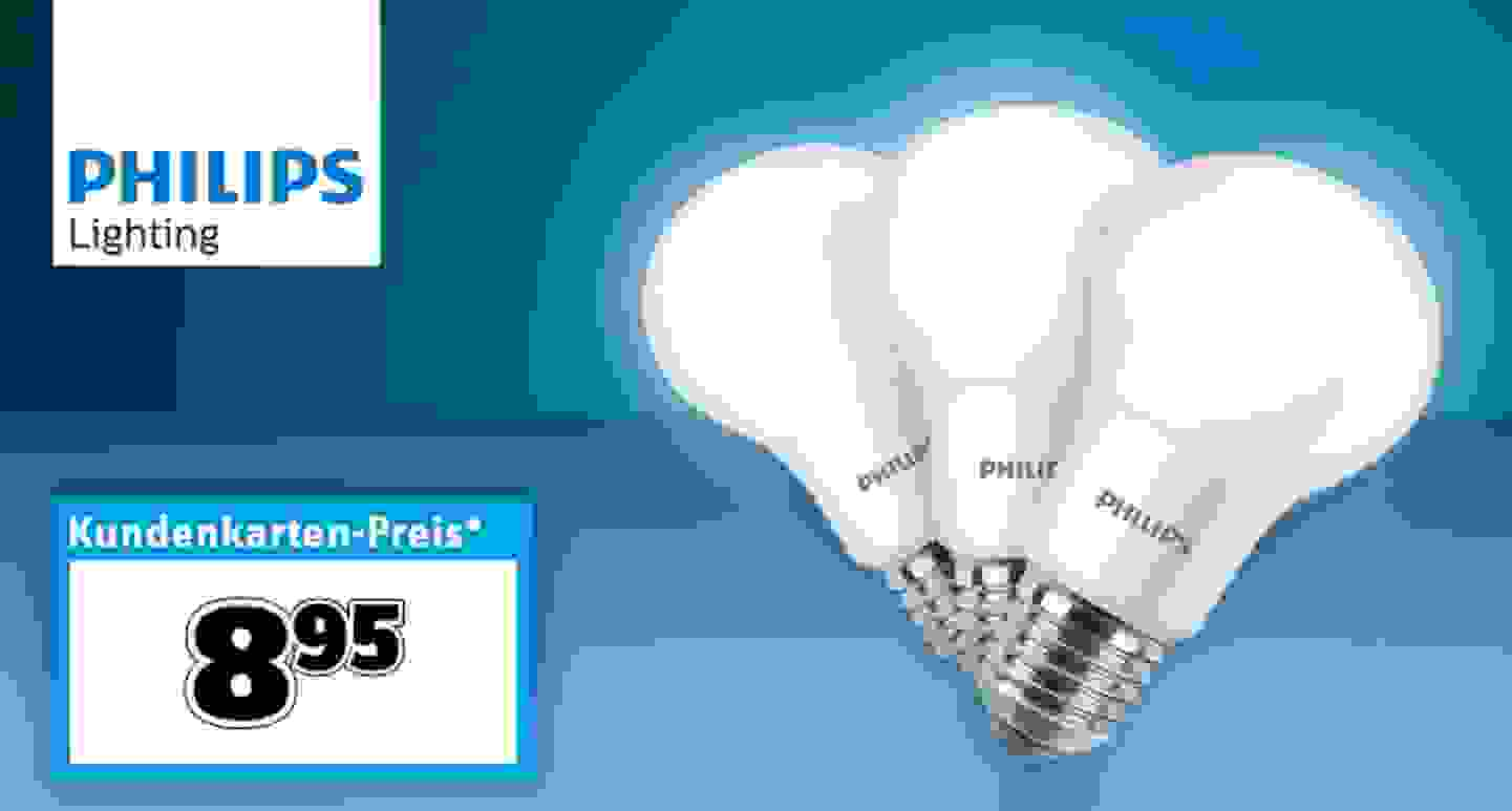 Philips Lighting - LED Lampen, 3 Stk.