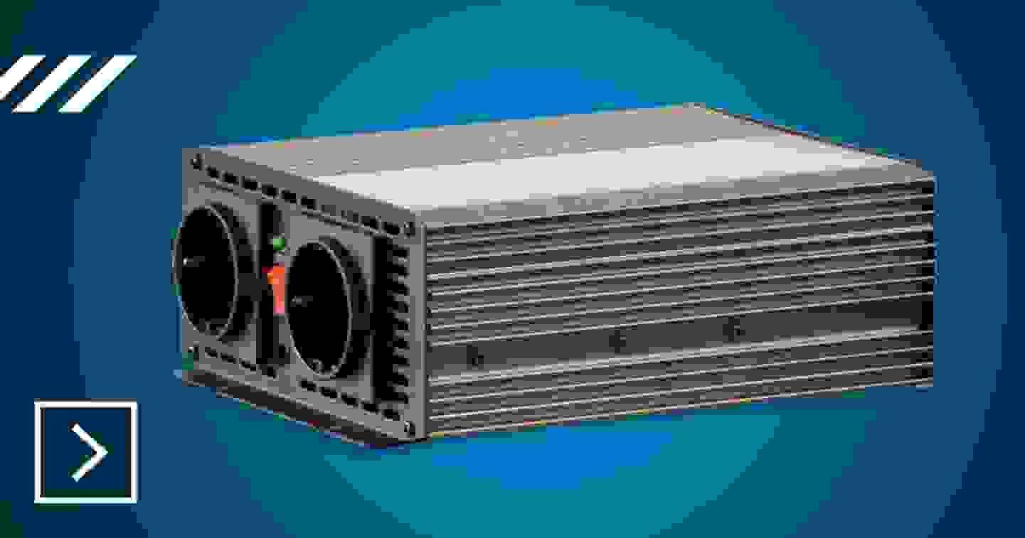 Voltcraft - Wechselrichter 12 V/DC - 230 V/AC »