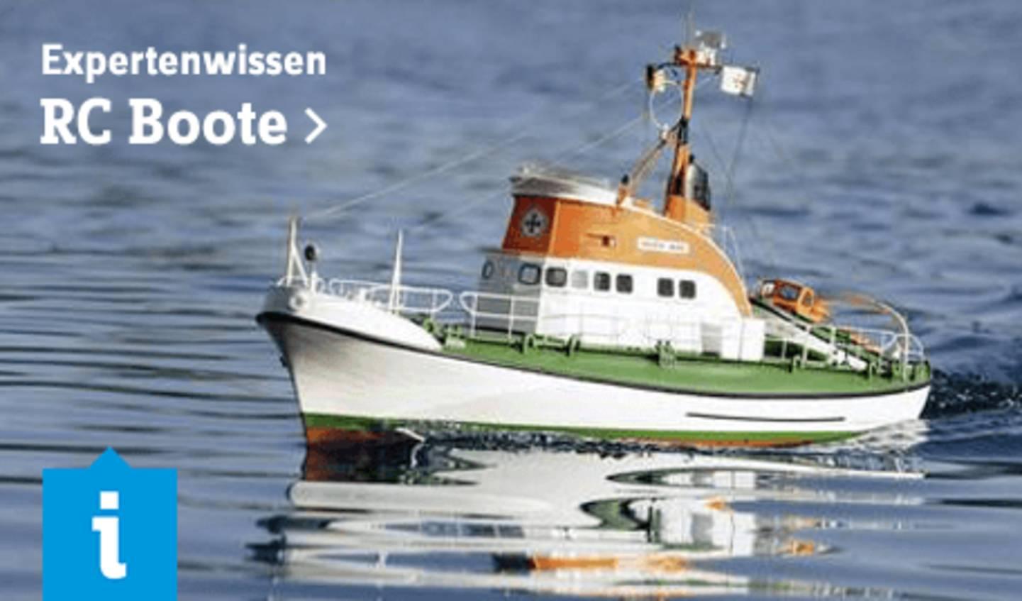 Expertenwissen: RC Boote