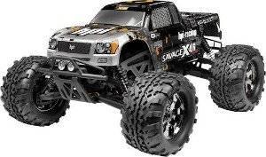 Modellauto Nitro Monstertruck Allradantrieb