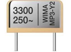 Condensateur antiparasitage du fabricant Wima d'une capacité de 3300 pF et d'une tension nominale de 250 V.