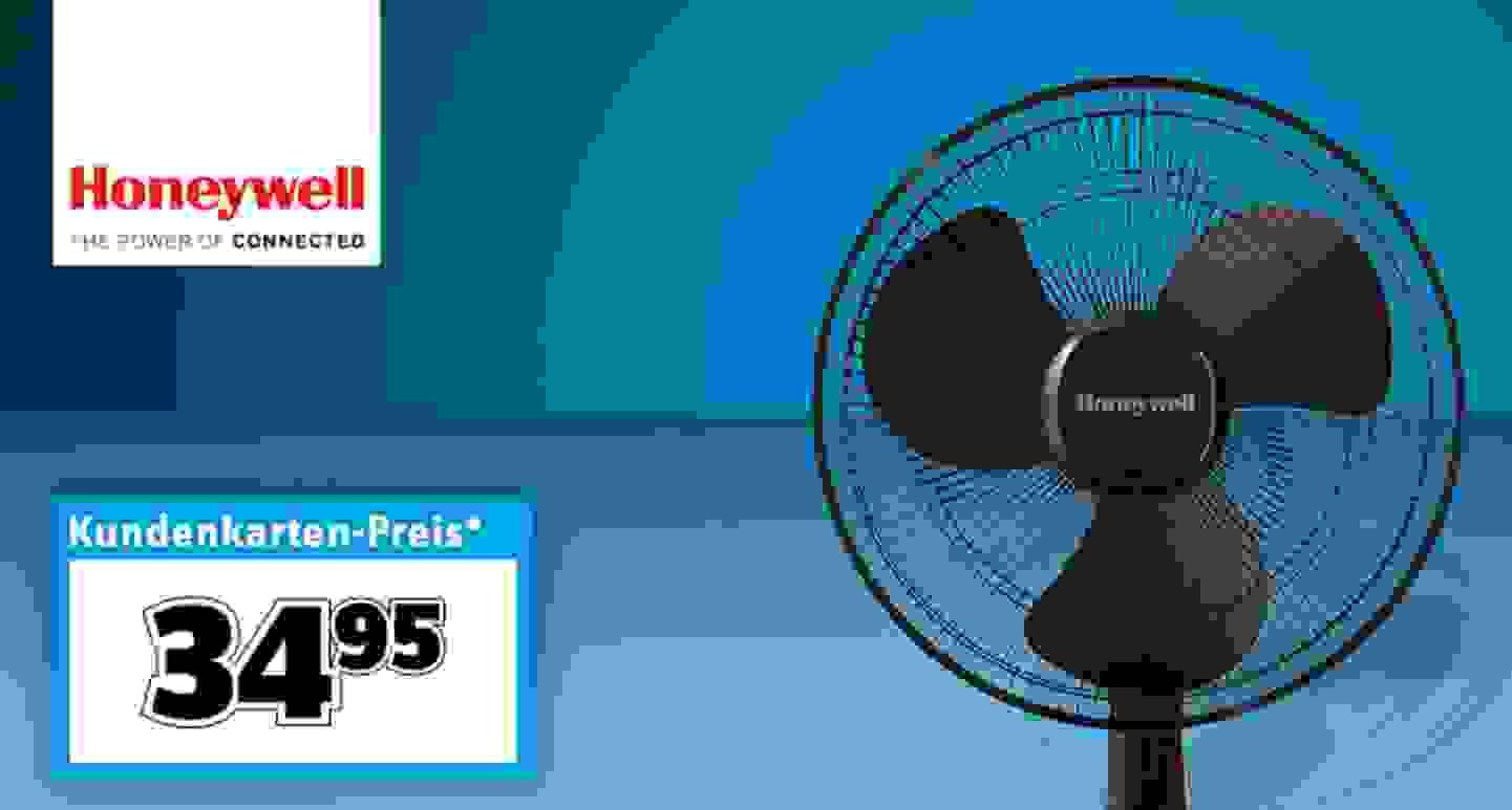 Honeywell AIDC HTF1220BE4 Tischventilator (Ø x H) 360 mm x 200 mm Schwarz
