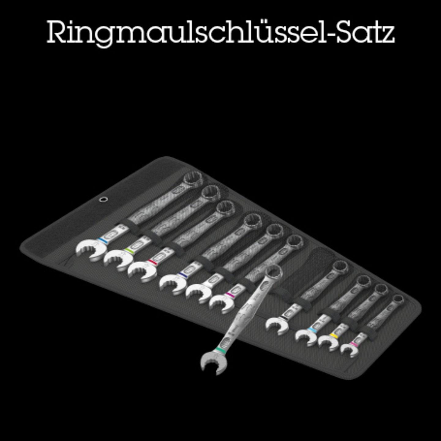 Ringmaulschlüssel-Satz