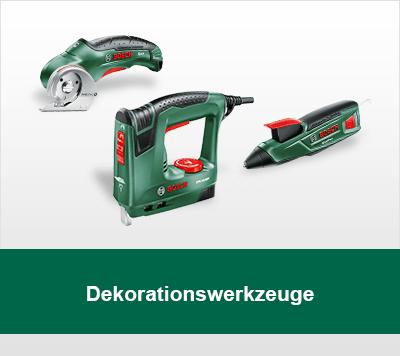 Bosch Dekorationswerkzeuge