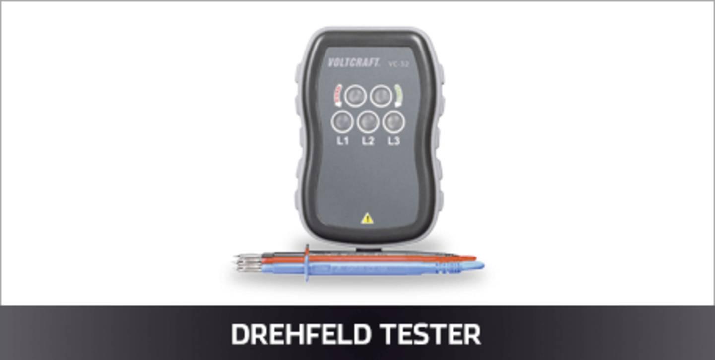 Drehfeld Tester