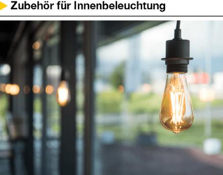 Zubehör für Innenbeleuchtung