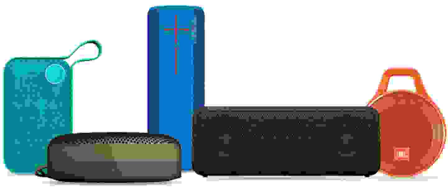 Verschiedene Bluetooth Lautsprecher
