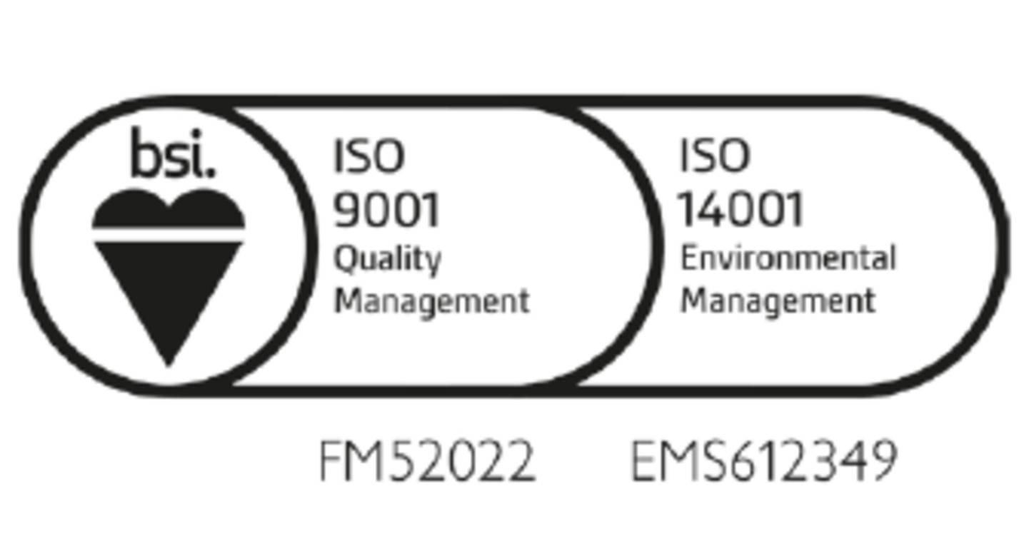 Zertifizierung nach ISO 9001 & ISO 14001