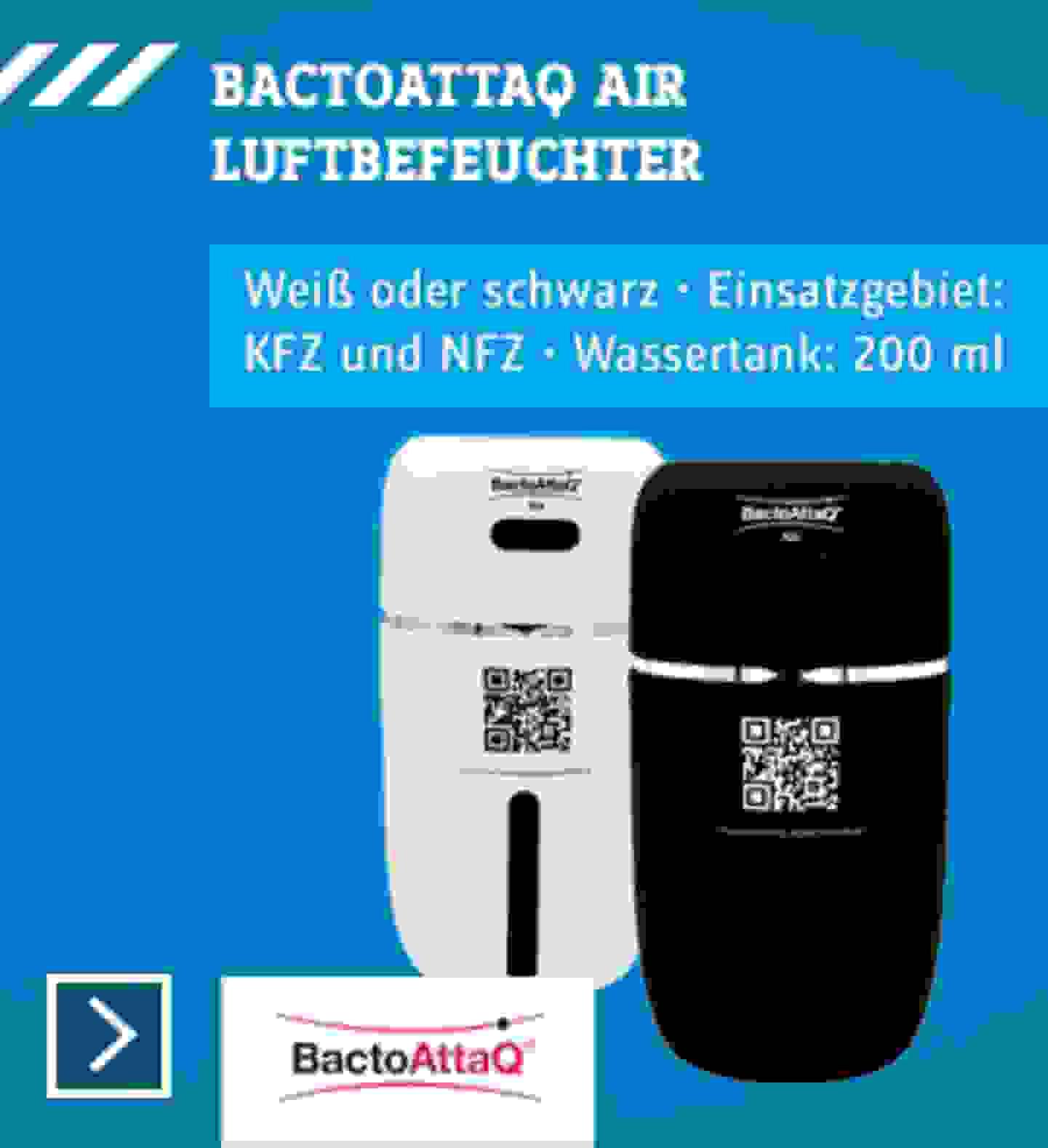 Bactoattaq Luftbefeuchter