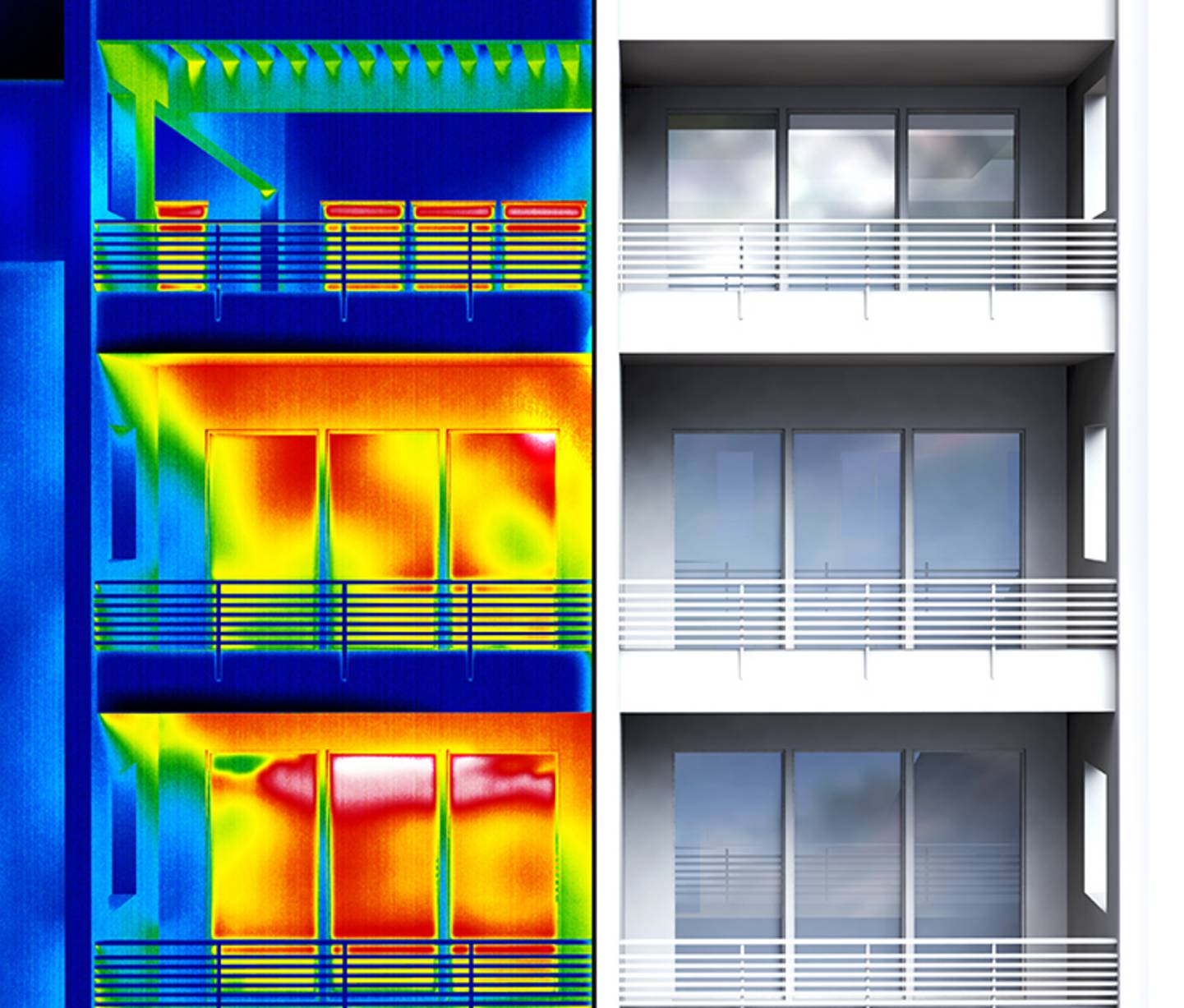 Wärmebrücken mittels Wärmebildkameras und Infrarotthermometer erkennen
