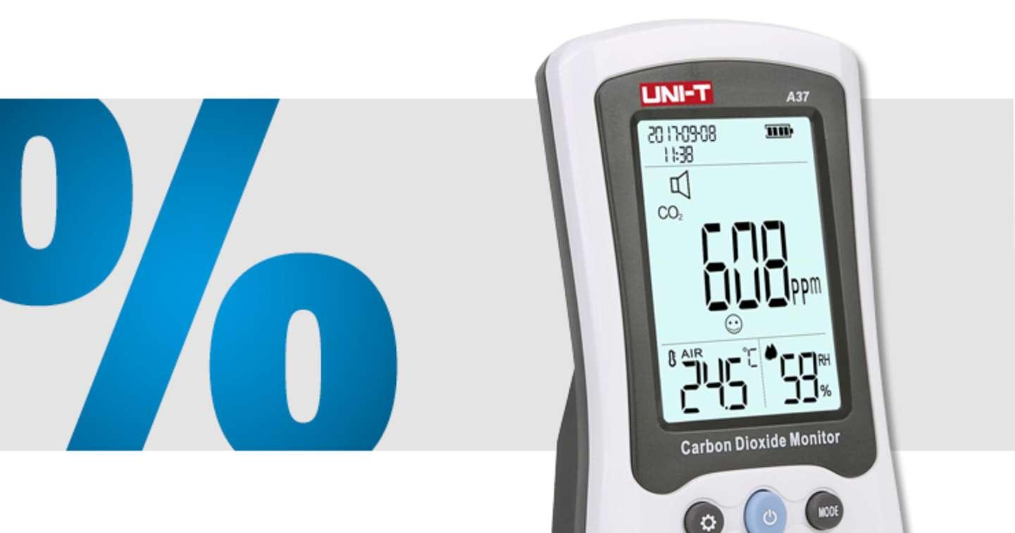 Uni-T - A37 Kohlendioxid-Messgerät »