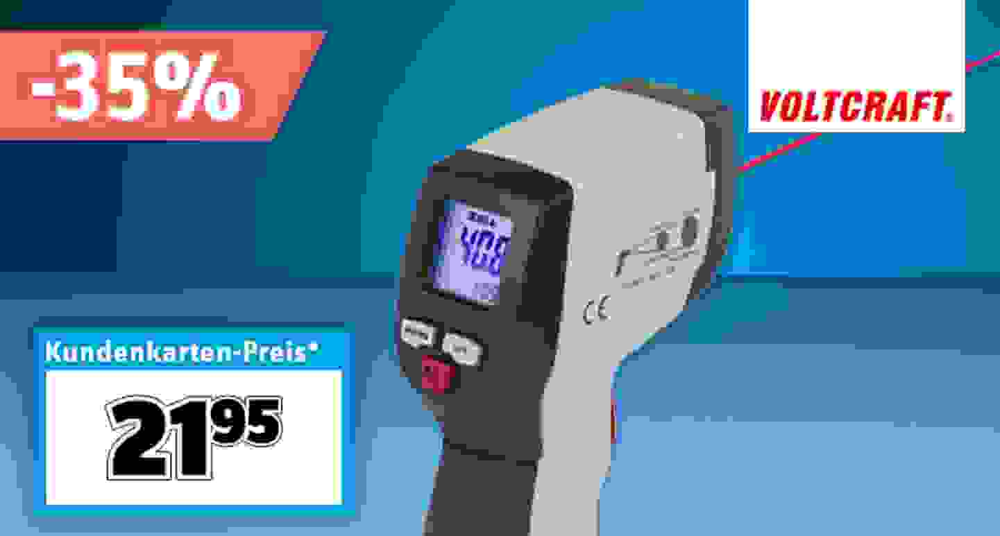 VOLTCRAFT - IR 500-12S Infrarot-Thermometer »