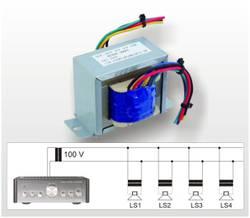 Mit ELA-Spannungswandlern lassen sich mehrere Lautsprecher über große Distanzen betreiben