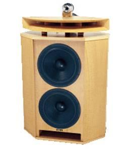 Luidsprekerbox in een elegant houten design