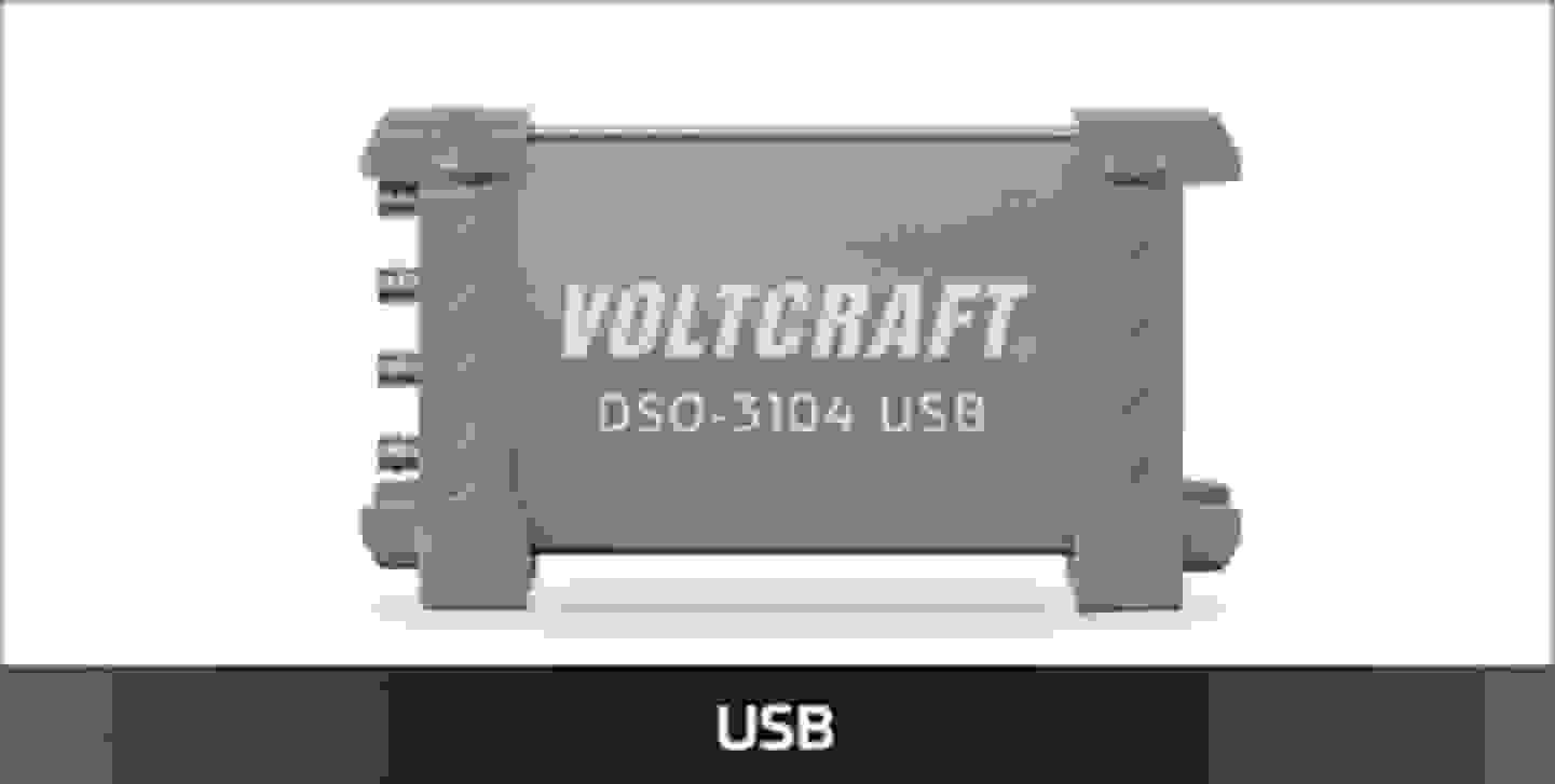 VOLTCRAFT USB-Oszilloskope