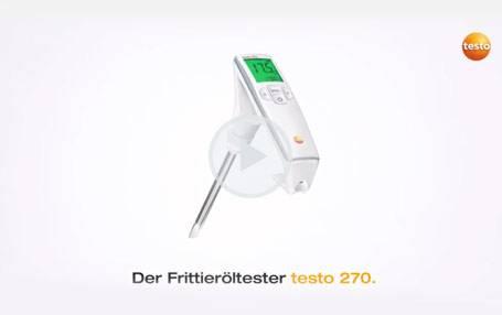 Frittieröltester testo 270: Produktvideo