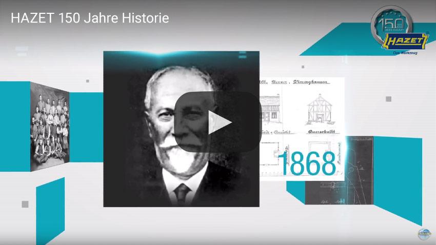 Hazet 150 Jahre Historie