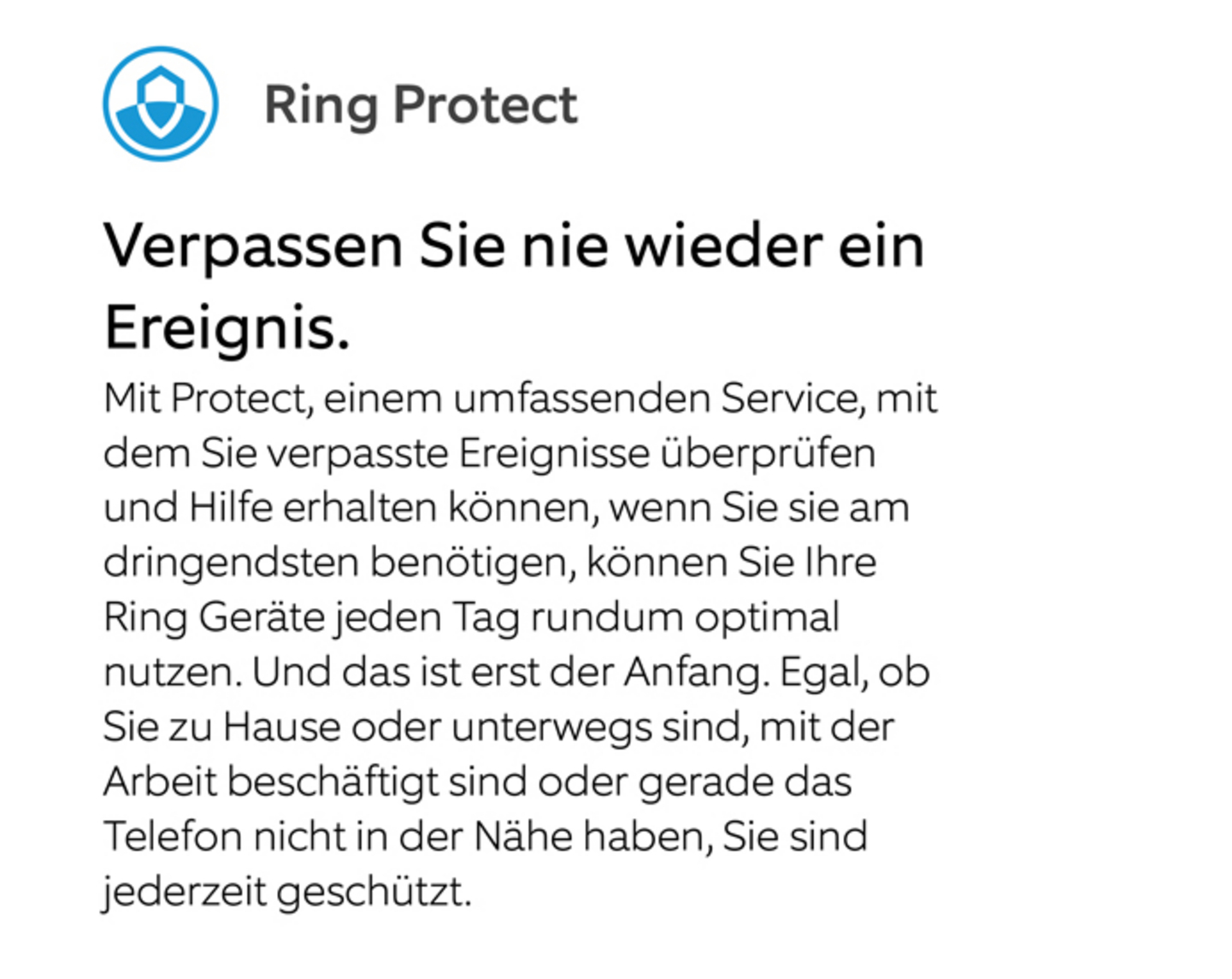 Ring Protect