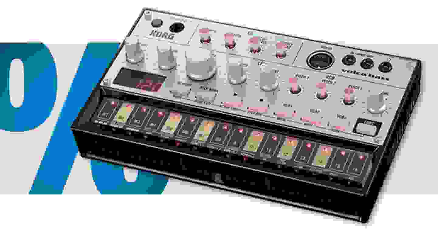 Korg - Volca Bass | Synthesizer - analoge Groove-Box »