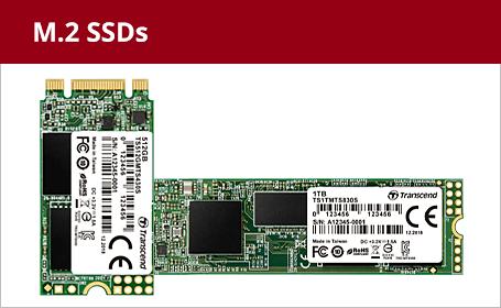 M.2 SSDs