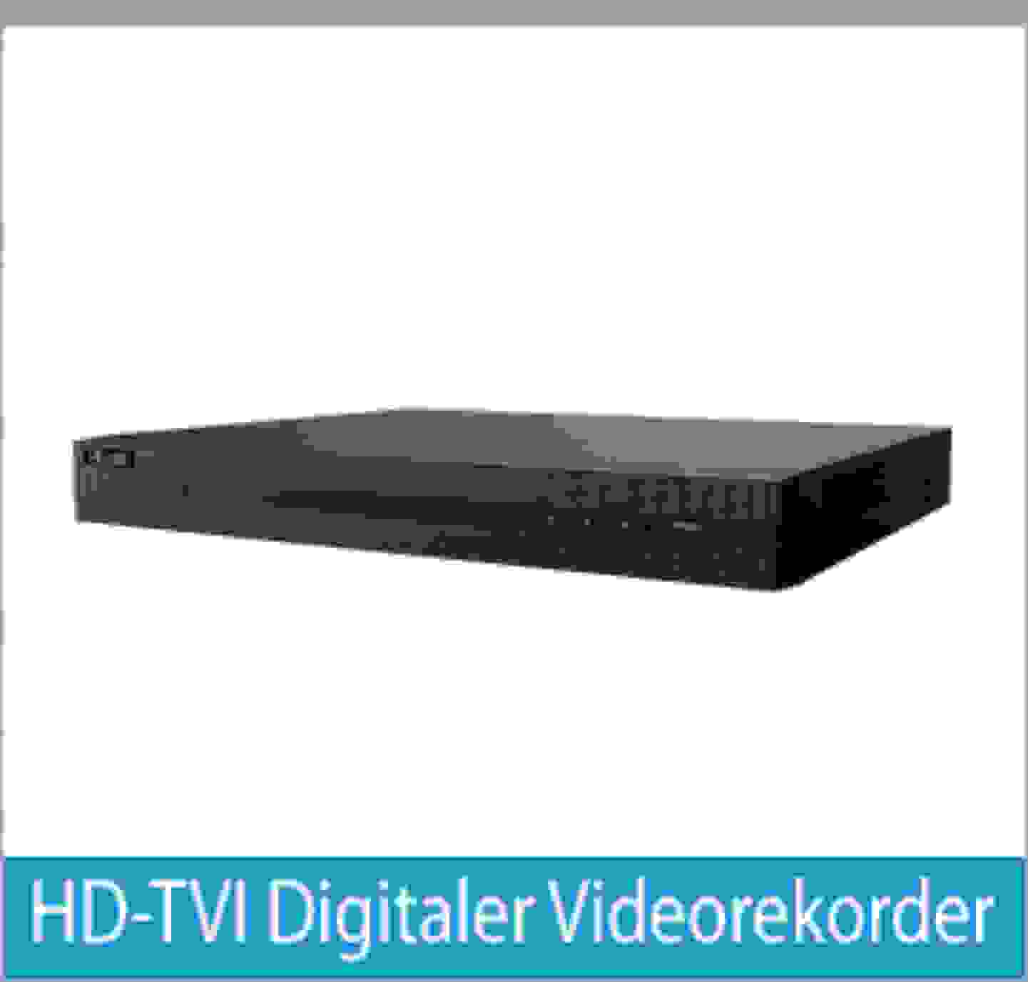 HD-TVI Digitaler Videorekorder