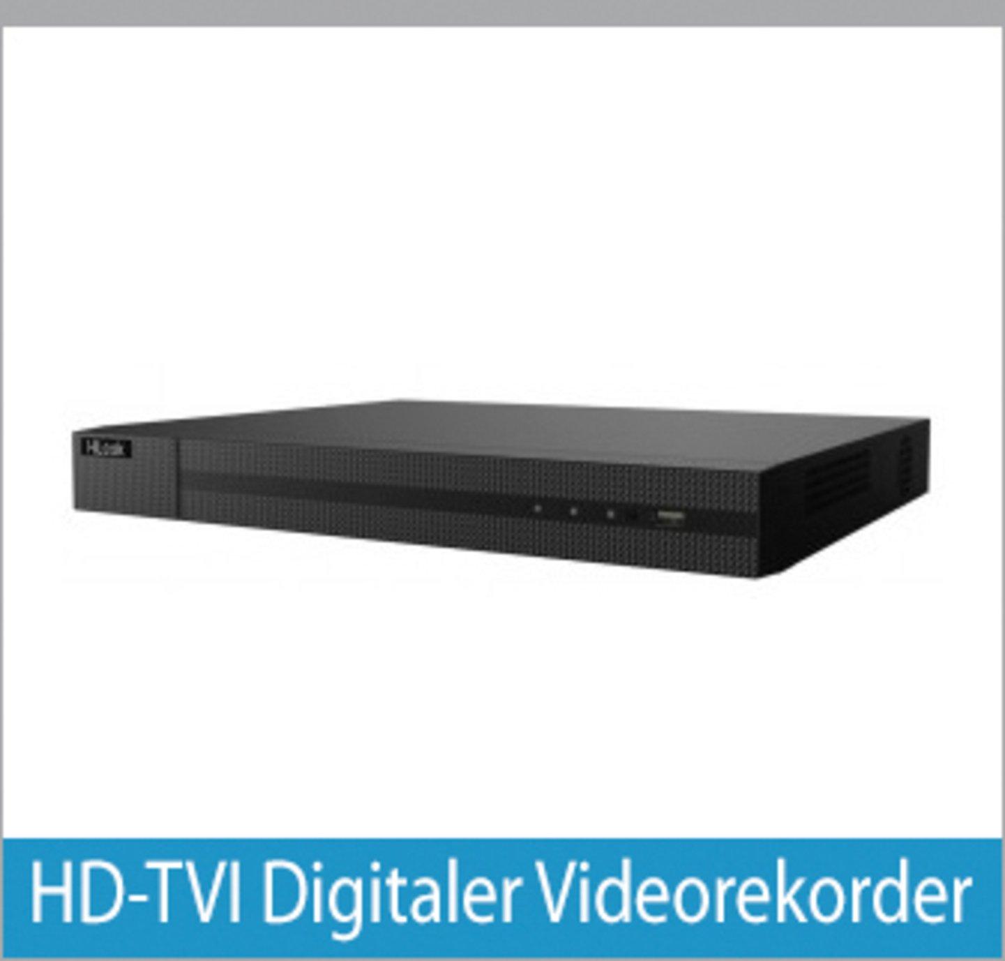 HD-TVI Digitaler Videorekorder