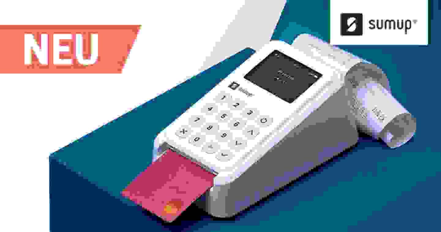 SumUp 3G+ Drucker Kit: Ein Kit. Alles, was Sie für Ihr Geschäft benötigen. Jetzt entdecken »