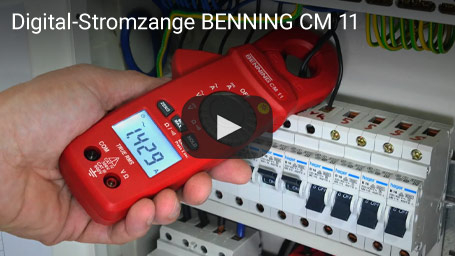 Digital-Stromzange BENNING CM 11