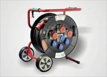 Universal cable reel