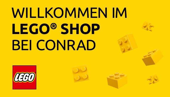 Willkommen im LEGO Shop bei Conrad