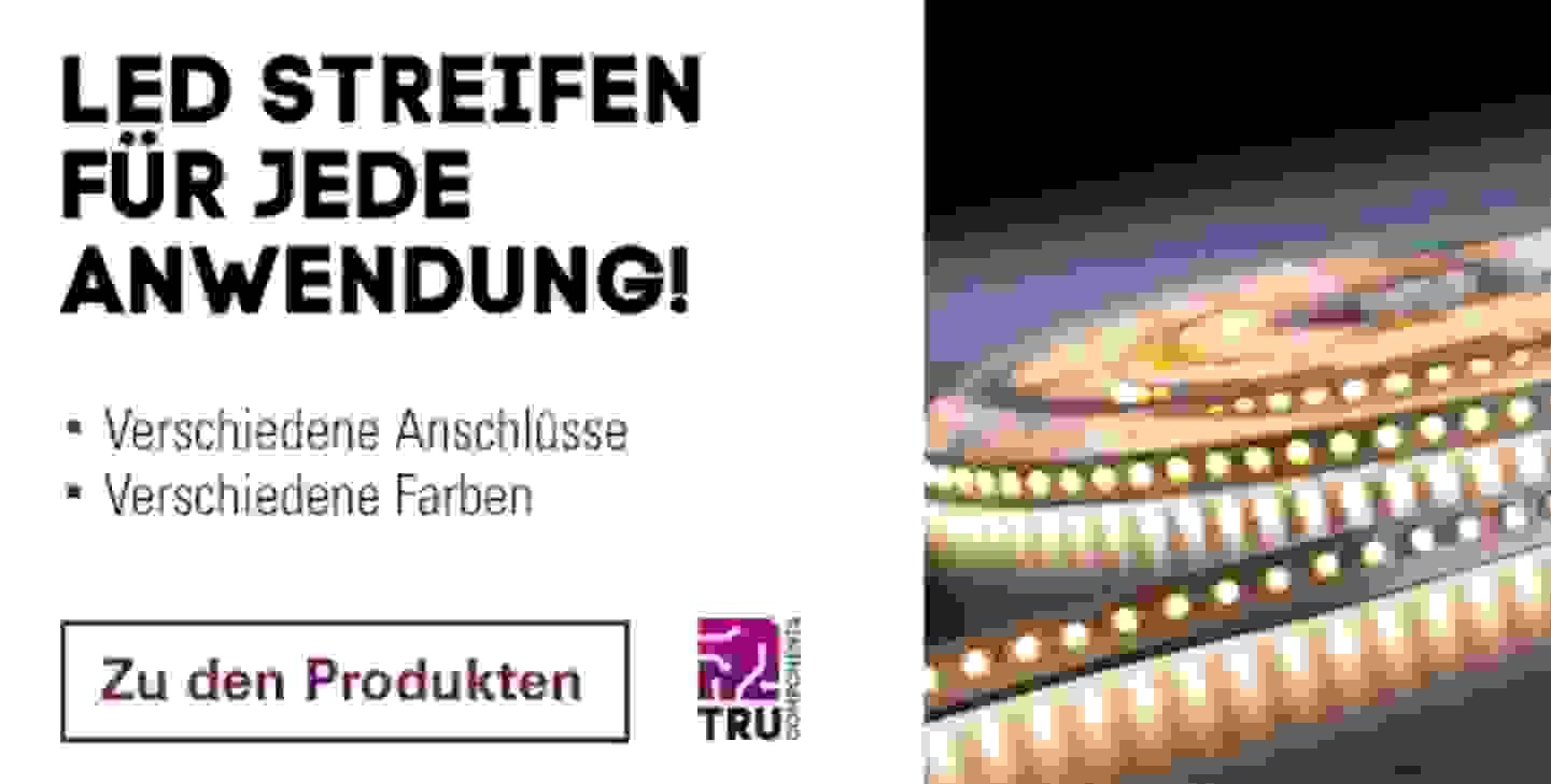 TRU LED-Lichtbänder