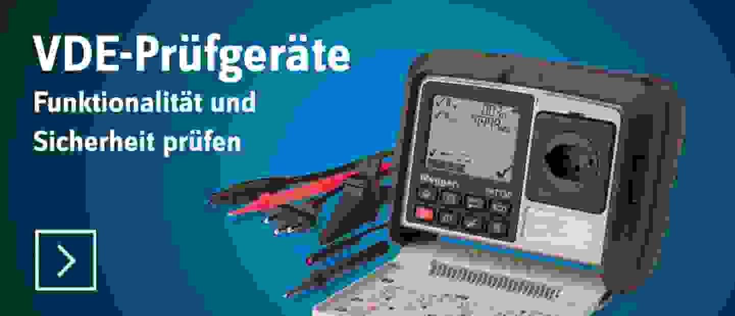 VDE-Prüfgeräte - Jetzt entdecken »