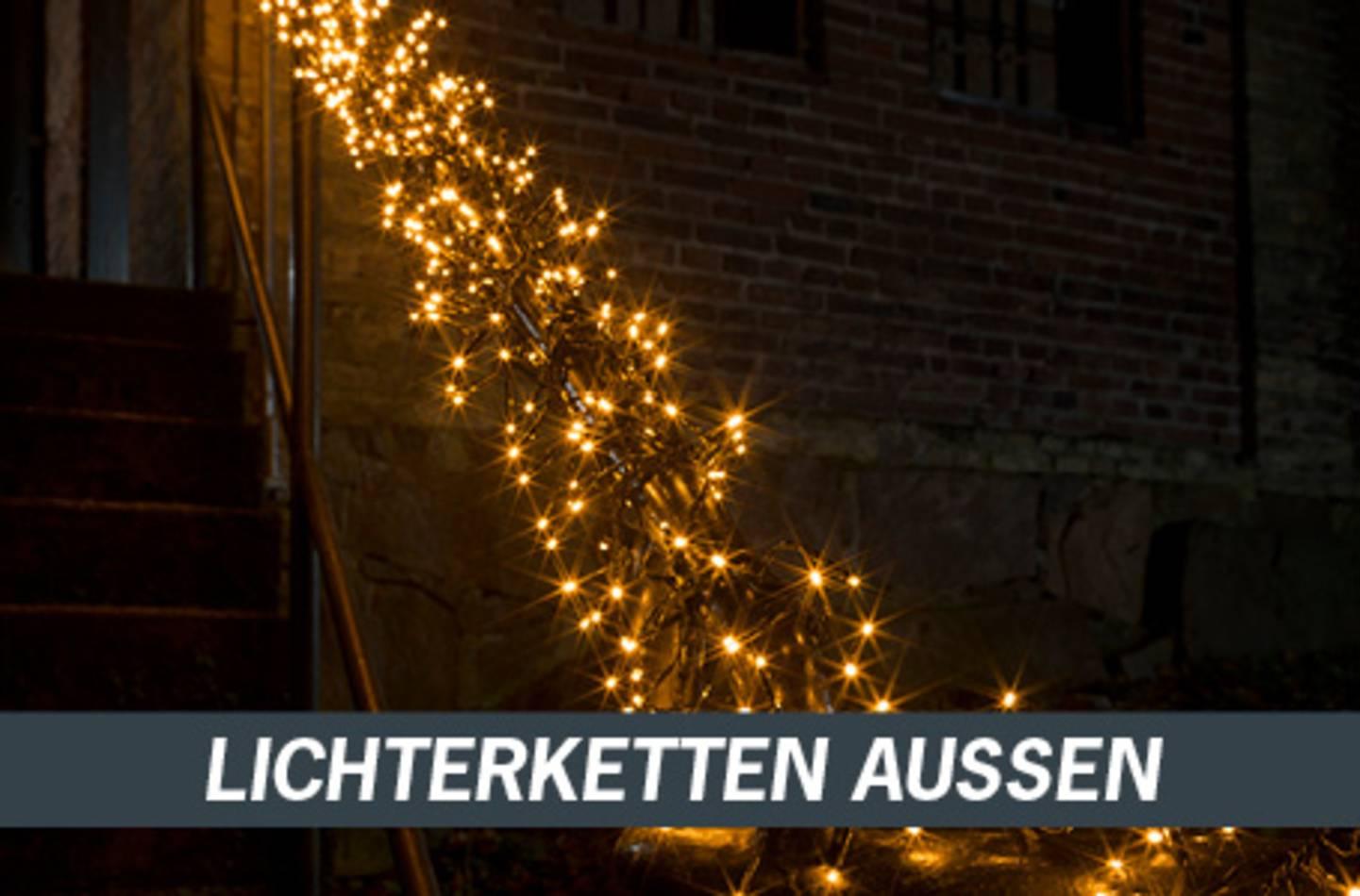 Lichterketten aussen