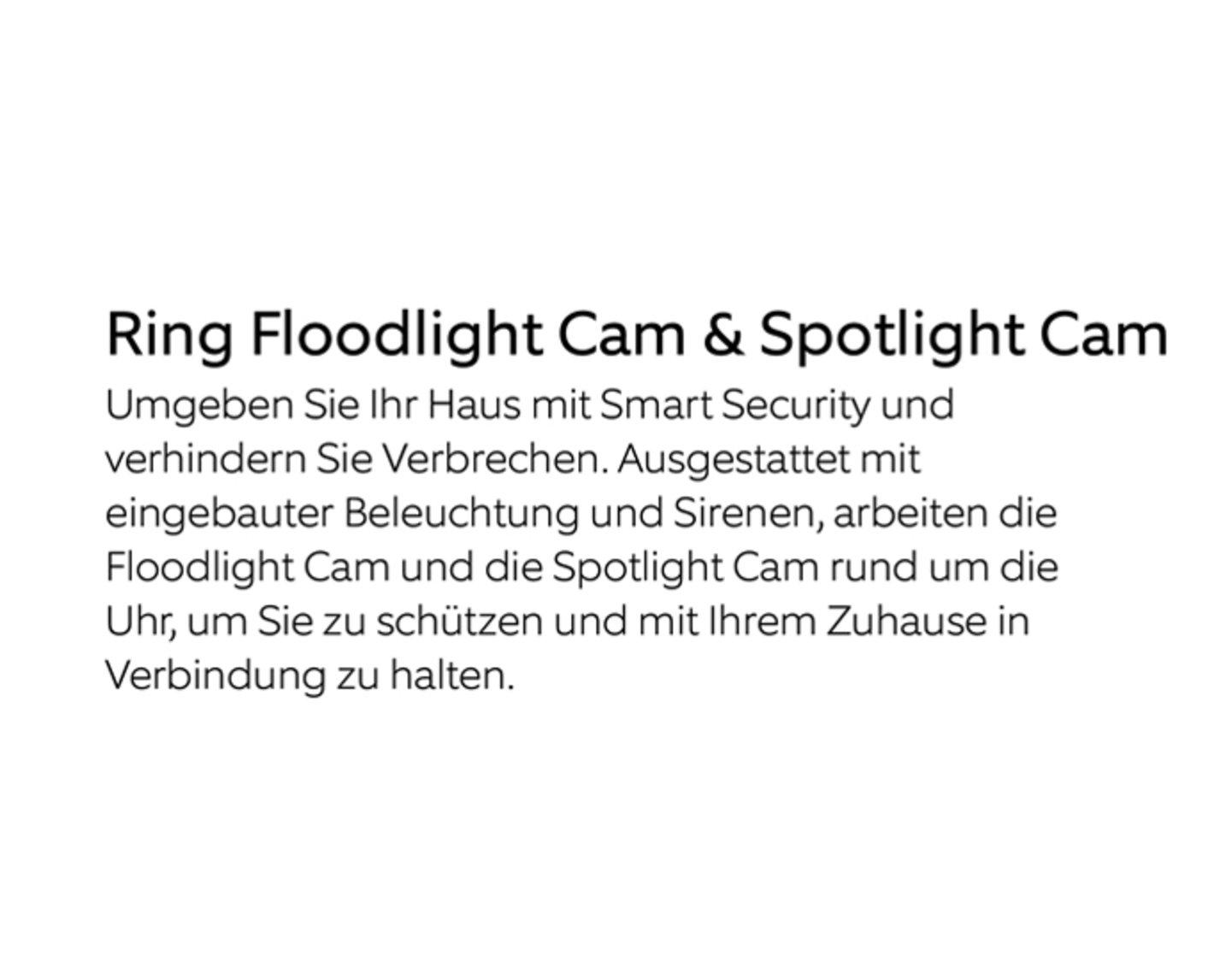 Ring Floodlight Cam & Spotlight Cam