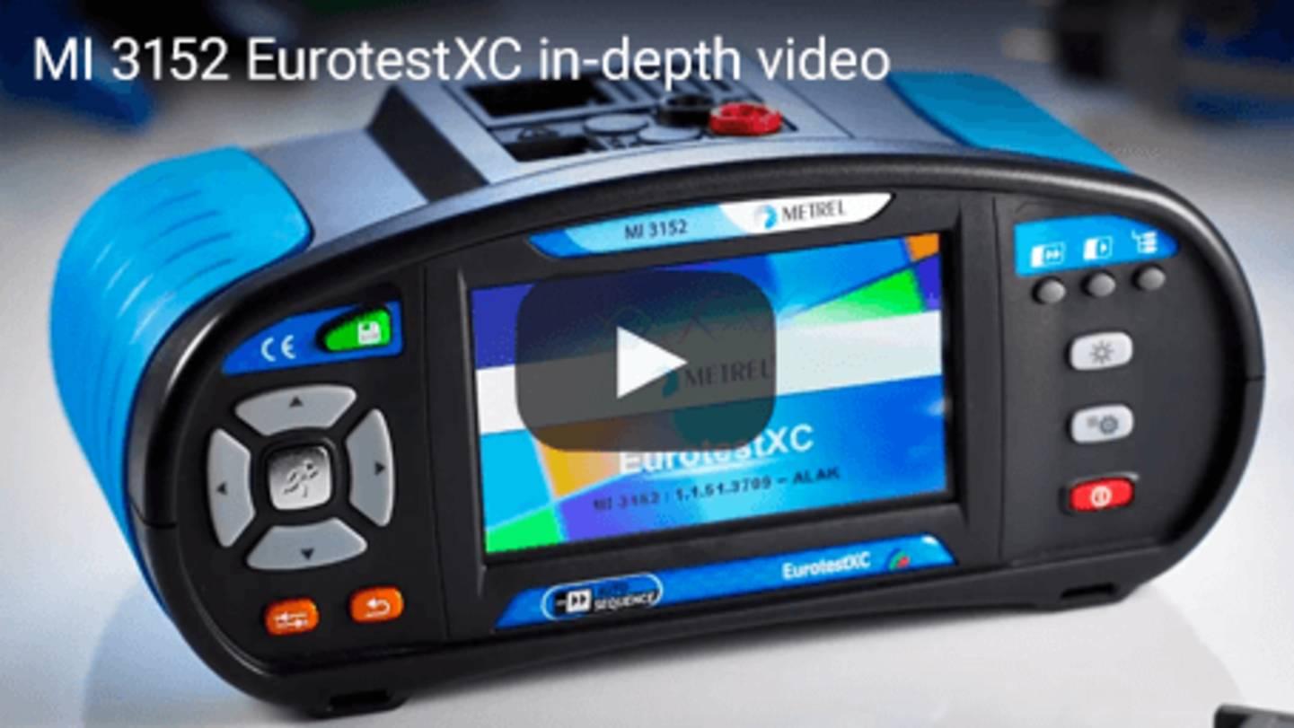 MI 3152 EurotestXC in-depth video