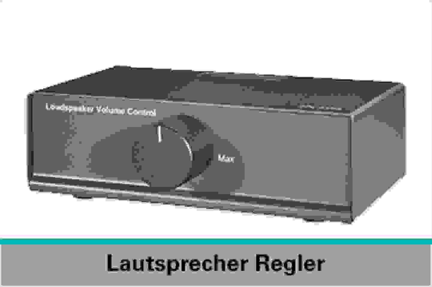 Speaka Professional Lautsprecher Regler