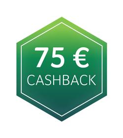 75€ Cashback